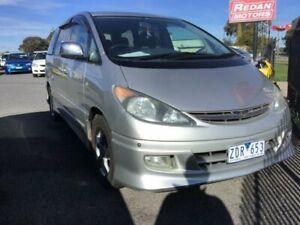 2002 Toyota Estima ACR30 Aeras Silver 4 Speed Automatic Wagon Delacombe Ballarat City Preview