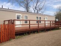MACOUN - 2010 Modular House fenced yard 3 bedrooms PRICE REDUCED