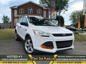 2016 Ford Escape S|Backup|SYNC|Bluetooth|StrngCntrls|Cruise|PwrO