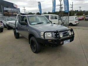 2007 Ford Ranger PJ XL (4x4) Grey 5 Speed Manual Super Cab Chassis Lilydale Yarra Ranges Preview