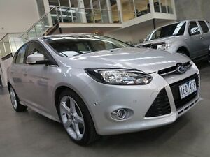 2013 Ford Focus LW MKII Titanium PwrShift Silver 6 Speed Sports Automatic Dual Clutch Hatchback Keilor Park Brimbank Area Preview
