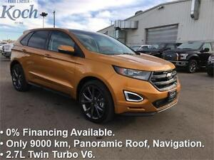 2016 Ford Edge Sport   Low kms, 2.7 EcoBoost, Nav, Moonroof, 21""