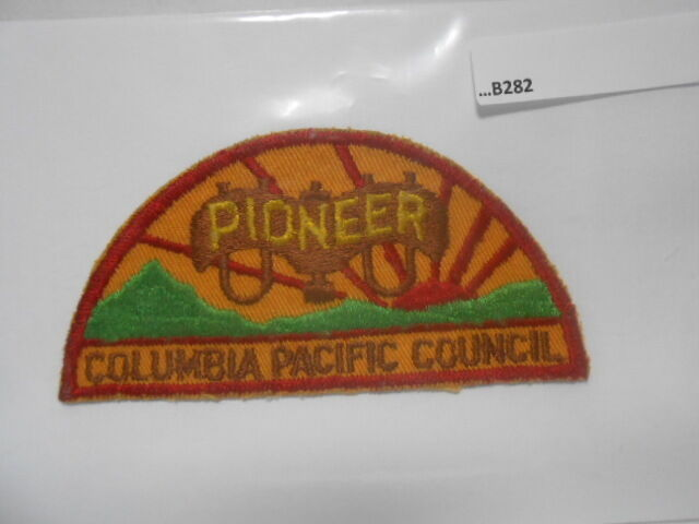 COLUMBIA PACIFIC COUNCIL PIONEER PATCH TWILL B282