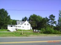 LARGE CORNER ACREAGE!! GREAT COMMERCIAL POTENTIAL!