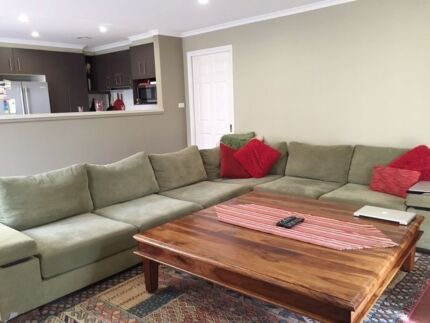 MOVING SALE - Large Couch, dining suite, Queen bed set Dunlop Belconnen Area Preview