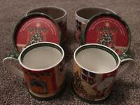 2 x Churchill Little Rhymes Santa Mug - Twas The Night Before Christmas - in gift box (BRAND NEW)