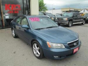 2006 HYUNDAI SONATA ! LOADED ! LEATHER ! SUNROOF !