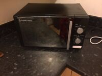 Microwave less then 1 year old - rusell Hobbs