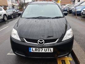Mazda 5 mpv 7 seats black with full Mazda sevice history.