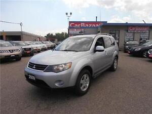 2009 Mitsubishi Outlander ES 4CYL LEATHER 4WD LOADED LOW FINANCE