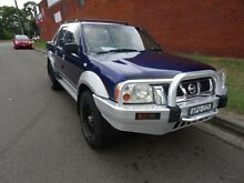 2003 Nissan Navara D22 ST-R (4x4) Blue 5 Speed Manual Dual Cab Pick-up St Marys Penrith Area Preview