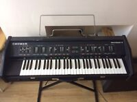 Vintage Crumar Synth - Crumar Multiman-S / Orchestrator analogue Synthesizer Keyboard