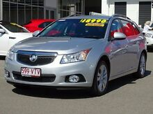 2012 Holden Cruze JH Series II MY13 CDX Sportwagon Silver 6 Speed Sports Automatic Wagon Garbutt Townsville City Preview