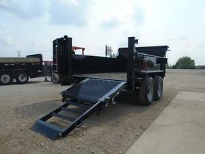 ALL PURPOSE DUMP TRAILER 6 X 12 5 TON WITH COMBO GATE QUALITY London Ontario image 8