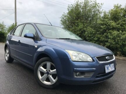 2005 Ford Focus LR LX Blue 4 Speed Automatic Hatchback Hoppers Crossing Wyndham Area Preview