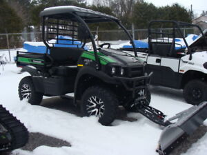 Kawasaki Mule Plow Package ONLY $ 247.00 Per Month