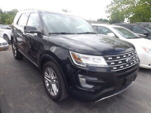 2017 Ford Explorer Limited 4x4 LEATHER SUNROOF