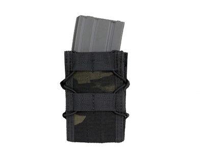 Magazintasche  mit Klett Gürtelhalterung für 5,56 Magazine - Multicam Black