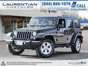 2015 Jeep Wrangler Unlimited -6-SPEED MANUAL!