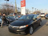 2012 Honda Civic EX+Etretenue ici+Impeccable+Garantie 200.000km
