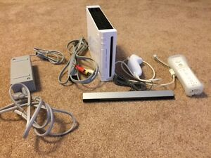 Wii Console w/ one controller + nunchuk ($75 or best offer)