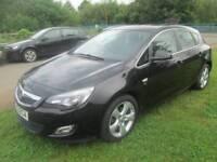 Vauxhall Astra 1.6 i VVT 16v SRi 5dr Good / Bad Credit Car Finance (black) 2011