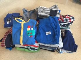 Baby boy 9-12 month used but good condition clothes bundle £25 ONLY!. Harrow area.