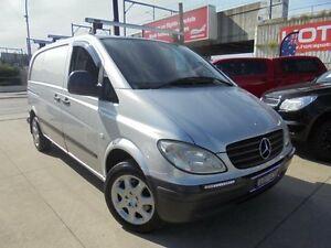 2004 Mercedes-Benz Vito 639 109CDI Silver 6 Speed Manual Van Granville Parramatta Area Preview
