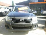 2011 Toyota Hilux TGN16R MY12 Workmate 4x2 Blue 5 Speed Manual Cab Chassis Merrylands Parramatta Area Preview