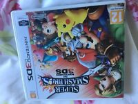 Super Smash Brothers 3ds