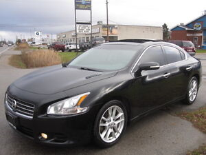 BLACK ON BLACK !!! 2010 Nissan Maxima SV