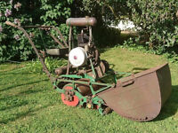 WANTED:- Old Cylinder Lawnmowers, Rotary Lawnmowers & Parts