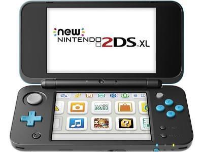 Nintendo   New Nintendo 2Ds  Xl   Black   Turquoise