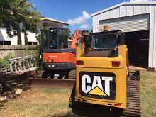 CAT Skid Steer (Multi Terrain Loader) on Tracks Burnett Heads Bundaberg City Preview