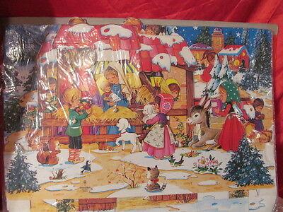 Advent Calendar For Kids (Dimensional  Advent Calendar The Nativity For Children Moveable)