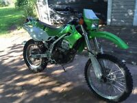 2007 klx250 1 month old mvi