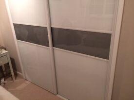 NEW glass sliding wardrobe doors