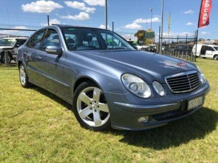 2004 Mercedes-Benz E320 W211 Avantgarde Metallic Blue 5 Speed Sports Automatic Sedan