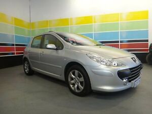 2007 Peugeot 307 MY06 Upgrade XSE HDI 2.0 Silver 6 Speed Manual Hatchback Wangara Wanneroo Area Preview