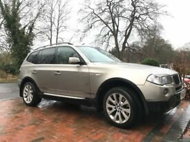 BMW X3 2.0 diesel 4x4 Very Clean Inside & Out