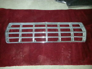 1978-1979 FORD BRONCO F SERIES PICKUP CHROME GRILL
