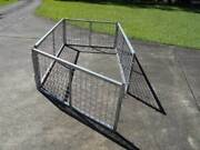 Box Trailer Galvanised  Cage 6 feet x 5 feet Palmwoods Maroochydore Area Preview