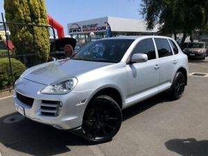 2007 Porsche Cayenne 9PA MY07 S Silver 6 Speed Sports Automatic Wagon Seaford Frankston Area Preview