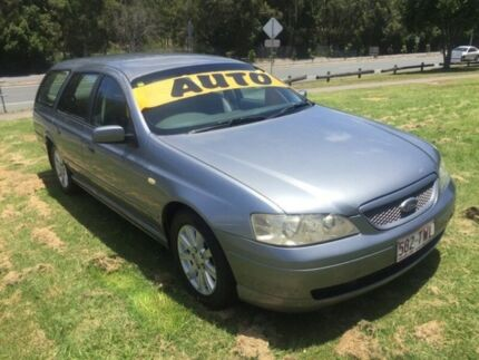2002 Ford Falcon BA Futura 4 Speed Auto Seq Sportshift Wagon Clontarf Redcliffe Area Preview
