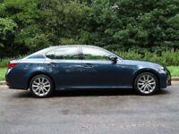 LEXUS GS 2.5 250 LUXURY 4d AUTO 206 BHP (grey) 2012