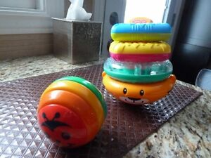 2 ,Baby toys Fisher Price and Gymboree
