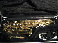 Earlham pro 2 Alto saxophone and case, as new