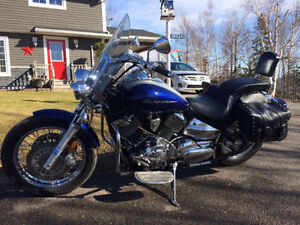 2008 Yamaha V-Star 1100 Motorcycle - Low KMS