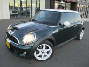2010 Mini Hatch R56 MY10 Cooper S Steptronic Green 6 Speed Sports Automatic Hatchback Goulburn Goulburn City Preview
