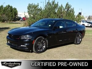 2018 Dodge Charger AWD GT Accident Free,  Navigation (GPS),  Lea